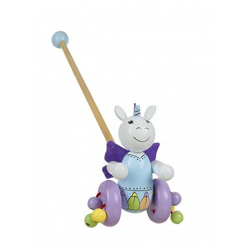 Orange Tree Toys - Push Long Unicorn