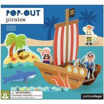 it Collage Pop-out Pirates - Pop out 3D puzzle for children