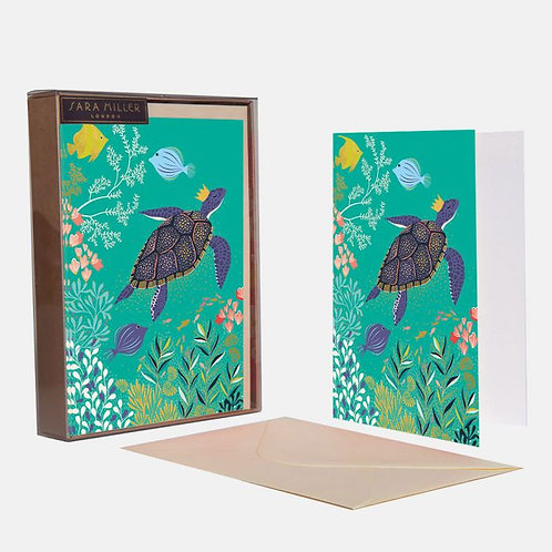 SARA MILLER - Notecard Box of 10