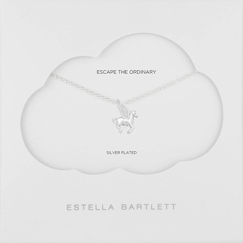 Estella Bartlett Silver-Plated Pegasus Necklace