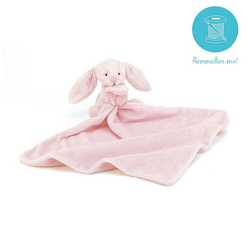 JELLYCAT - Bashful Pink Bunny Soother