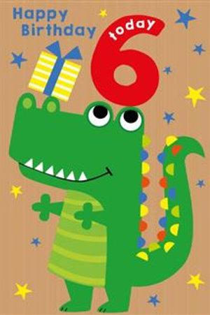 Birthday Age 6