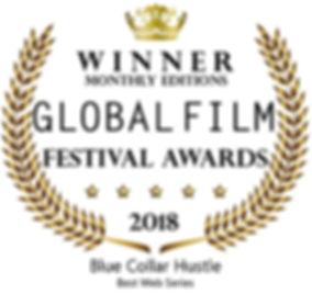 Global Film Festival Awards Blue Collar Hustle 2018
