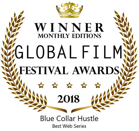 Global Film Festival Awards Blue Collar Hustle 2018