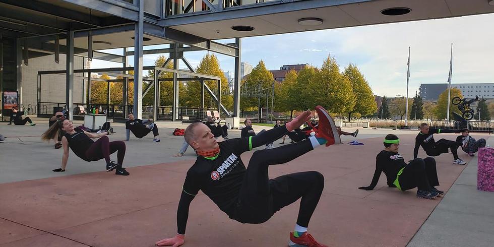 Spartan Race Workout Tour at MPS