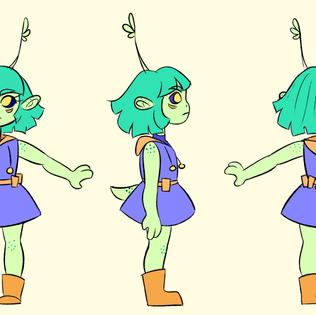 Character Design: Fibi