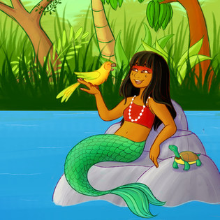 Iara the Mermaid
