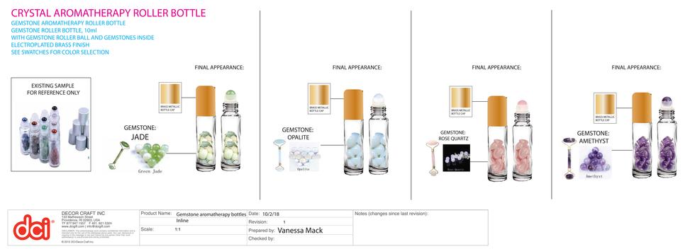 Product Specs: Roller Bottles