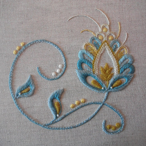 Spring Mixed Thread Crewelwork