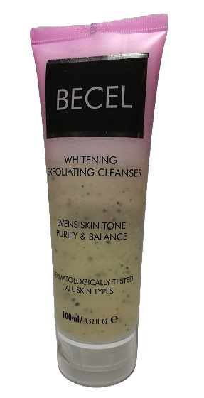 BECEL Whitening Exfoliating Cleanser