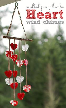 Heart Wind Chime