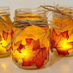 Leaf Candle Holders