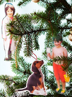 Stuffed Ornaments From Pictures