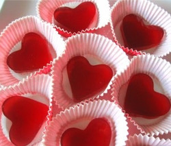 Gelatin Hearts