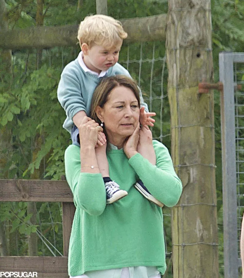 Prince George Enjoys Day Out With Maternal Grandmother