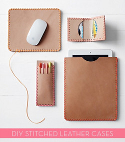 Stitched Leather Case