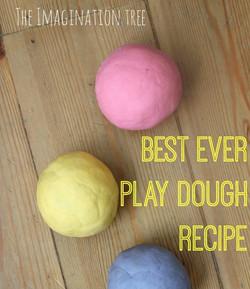 Play Dough Recipe - No Cook