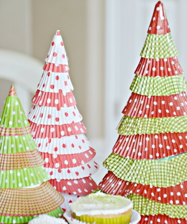 Paper Cupcake Tree