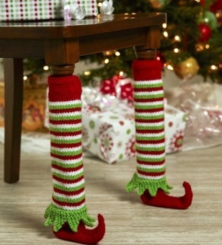 Elf Shoe Table Leg Cover