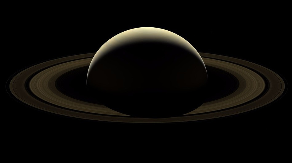 Last Image Of Saturn
