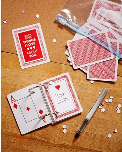 Deck of Personalized Message Cards