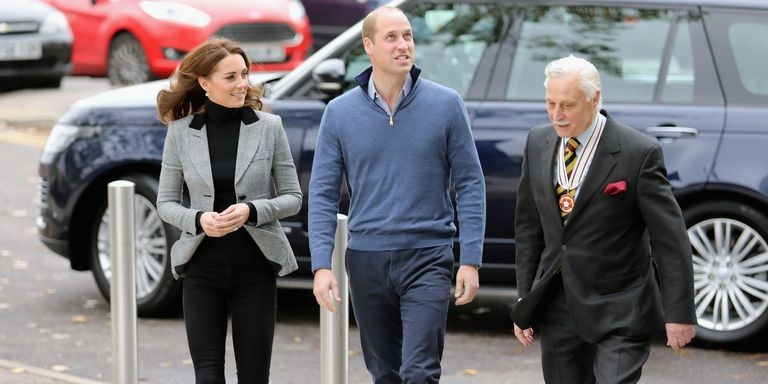 Kate Returns From Maternity Leave