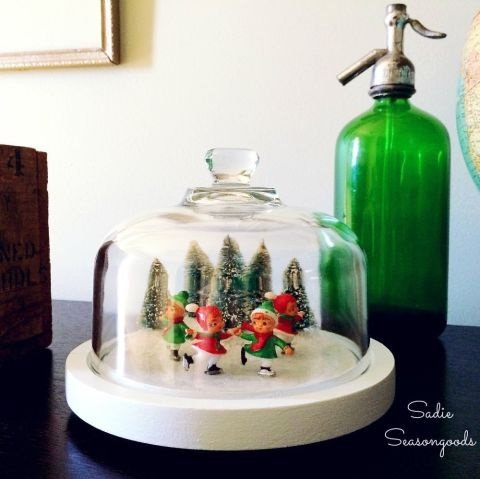 Waterless Snowglobe