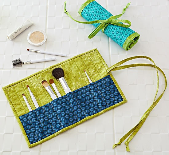 Make-up Brush Roll Up