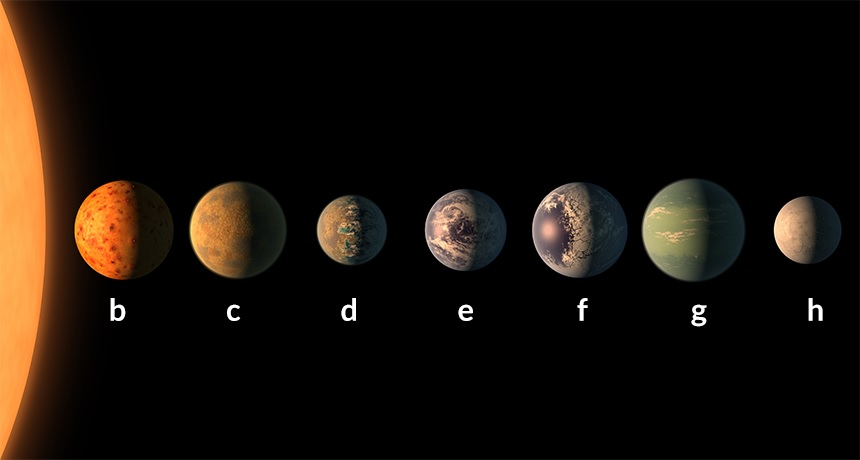 7 Earth-Size Planets Discovered