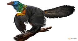 Iridescent Dinosaur