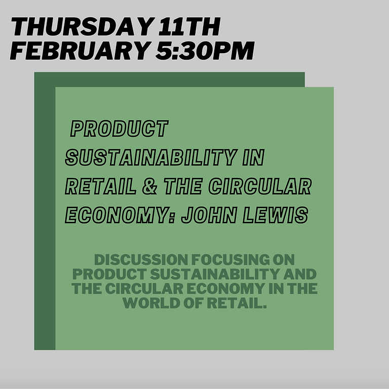 Product Sustainability in Retail and the Circular Economy: John Lewis