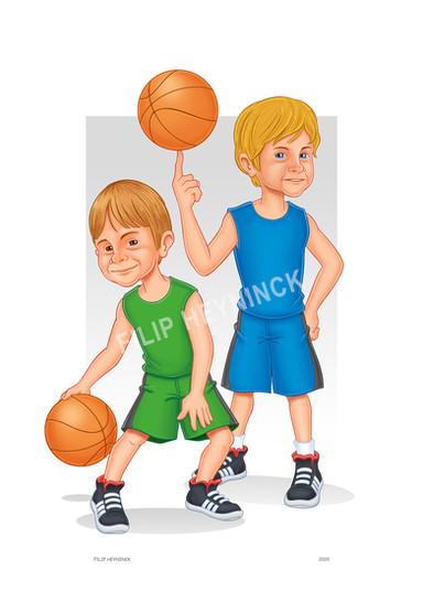 kariaktuur basket