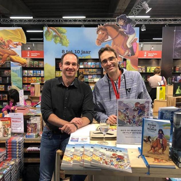 Op de boekenbeurs Antwerpen 11/2018
