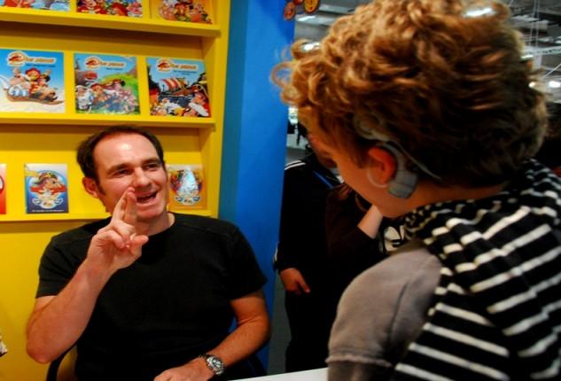 Piet Piraat signeren - EXPO Antwerpen