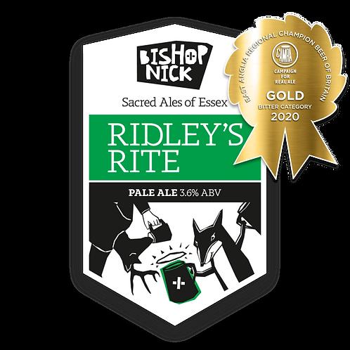 Bishop Nick Ridley's Rite 3.6%