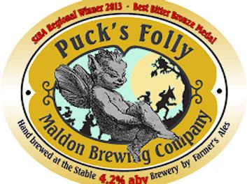 Maldon Puck's Folly 4.2%