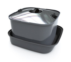 Smartspace square pots in pan