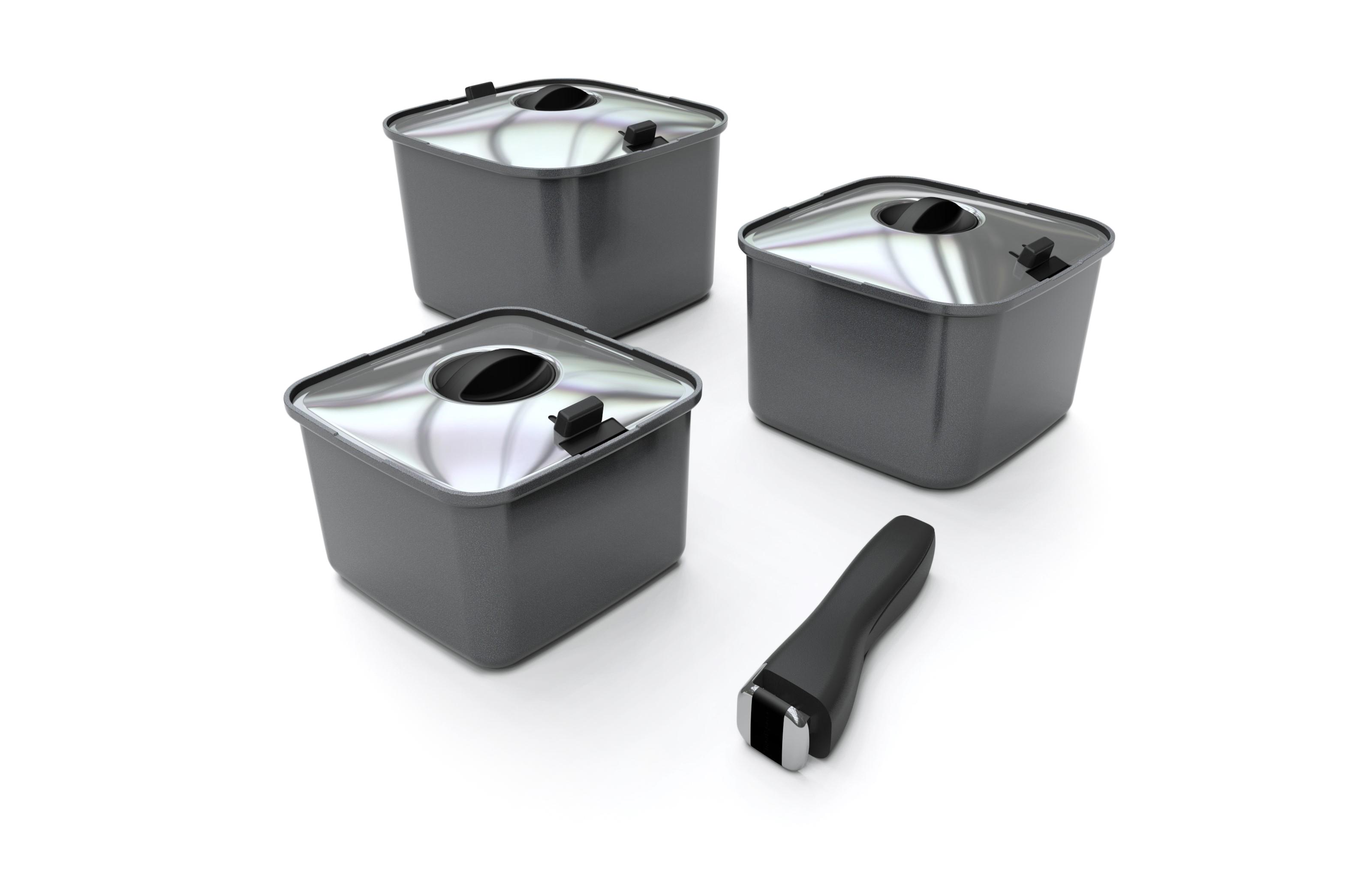 Smartspace square cooking pots info
