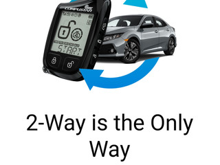 2 way is the way to go!