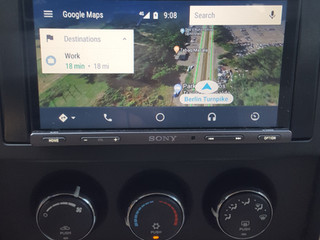 Android auto now has satellite view! Call for a quote on a Android auto radio for your car! 203-248-