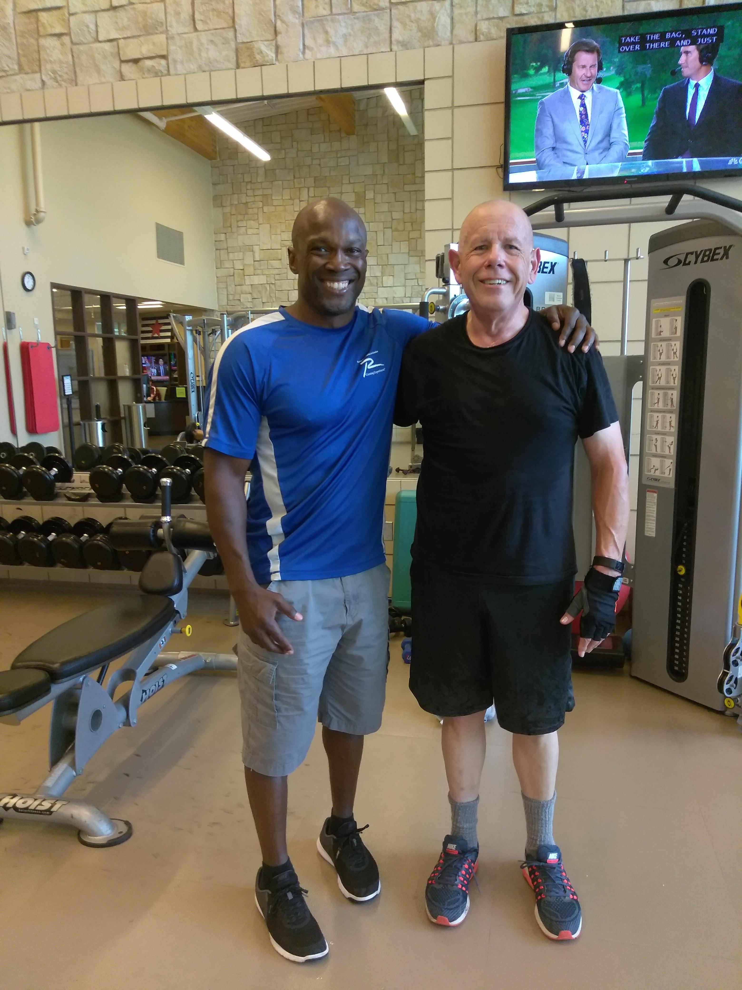 Coach Damon & George Chris