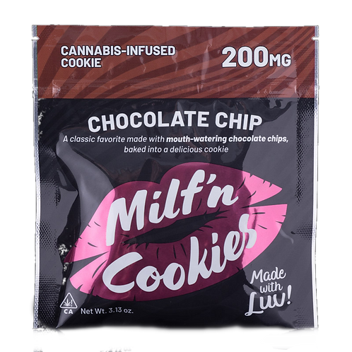 Chocolate Chip Cookie (200mg) - Milf N Cookies