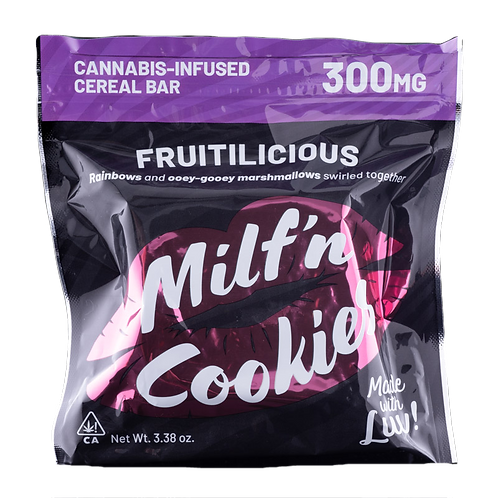 Fruitilicious Cereal bar (300MG THC) - Milf N Cookies