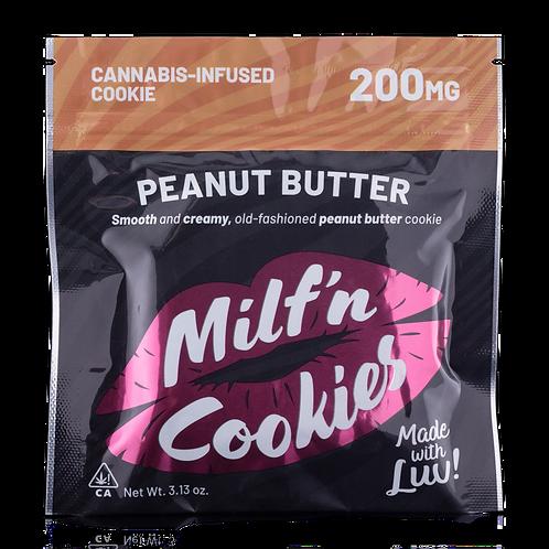 Peanut Butter Cookie (200mg) - Milf N Cookies