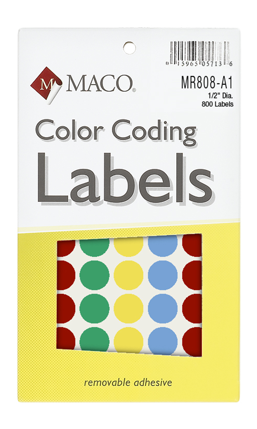 Circular Color Coding Labels