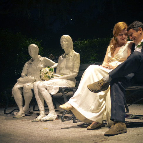 SHOOTING A NIGHTTIME WEDDING
