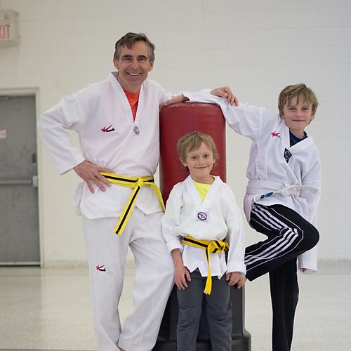 Taekwondo Newtons