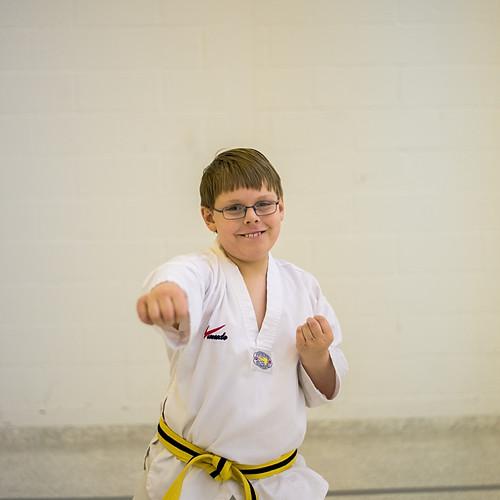 Taekwondo Nathaniel and Noah Pearson