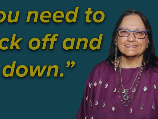 """Harjo: Chief Chuck Hoskin needs to """"back off and sit down"""" on tribal sovereignty issue"""