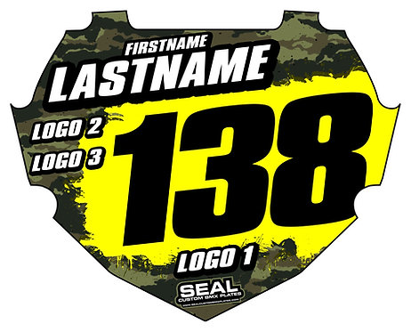 Army Camo Style 2 (Decal Only) - Box Components